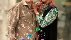 ژست نامتعارف فریبا نادری در آغوش شوهرش+عکس