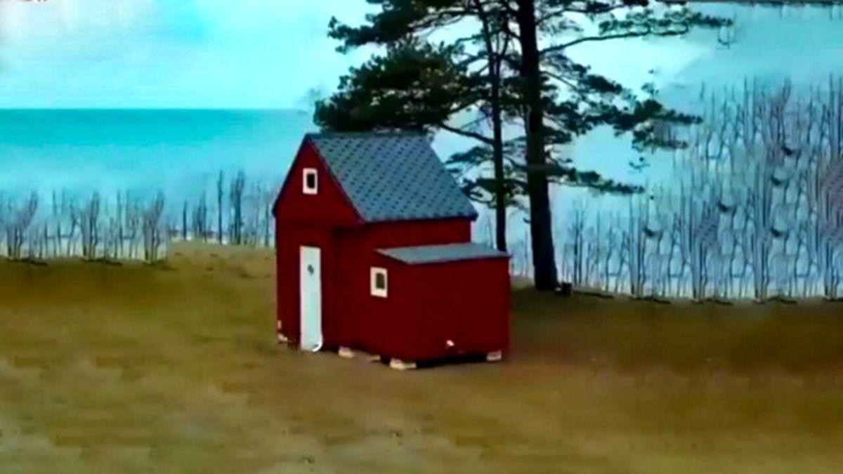 خانهای عجیب با امکان جابجایی + فیلم دیدنی