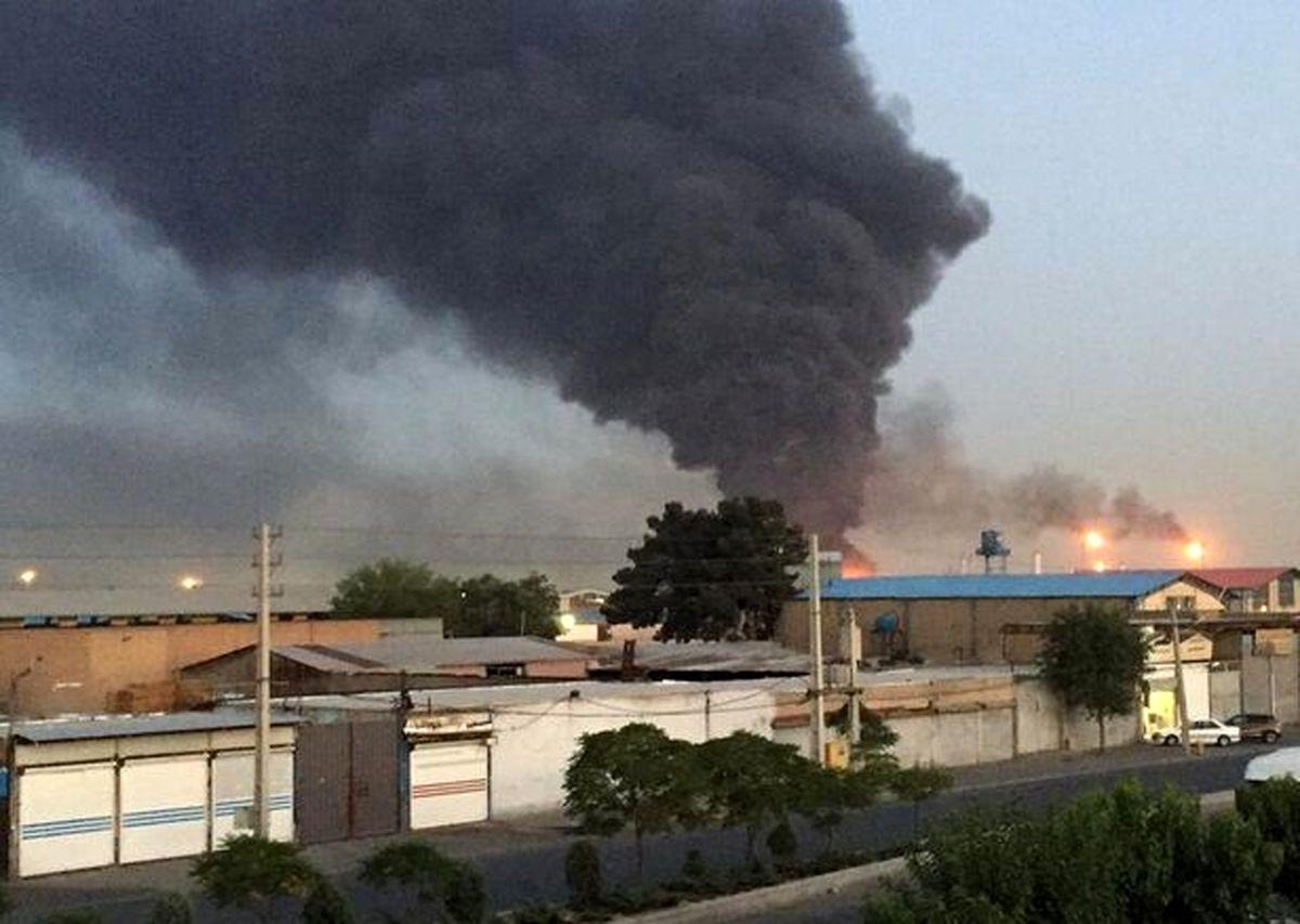 خبرفوری / آتش سوزی وحشتناک در جاده مخصوص+جزئیات بیشتر
