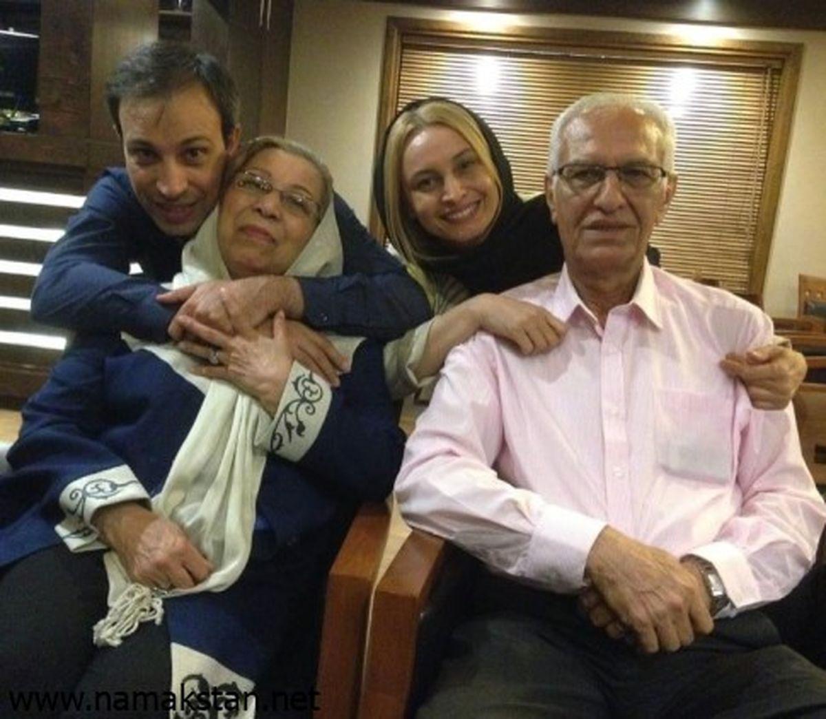عکس دیده نشده مریم کاویانی و خانواده اش+عکس