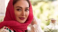 عاشقانه جنجالی الهام حمیدی برای همسرش + عکس دیدنی