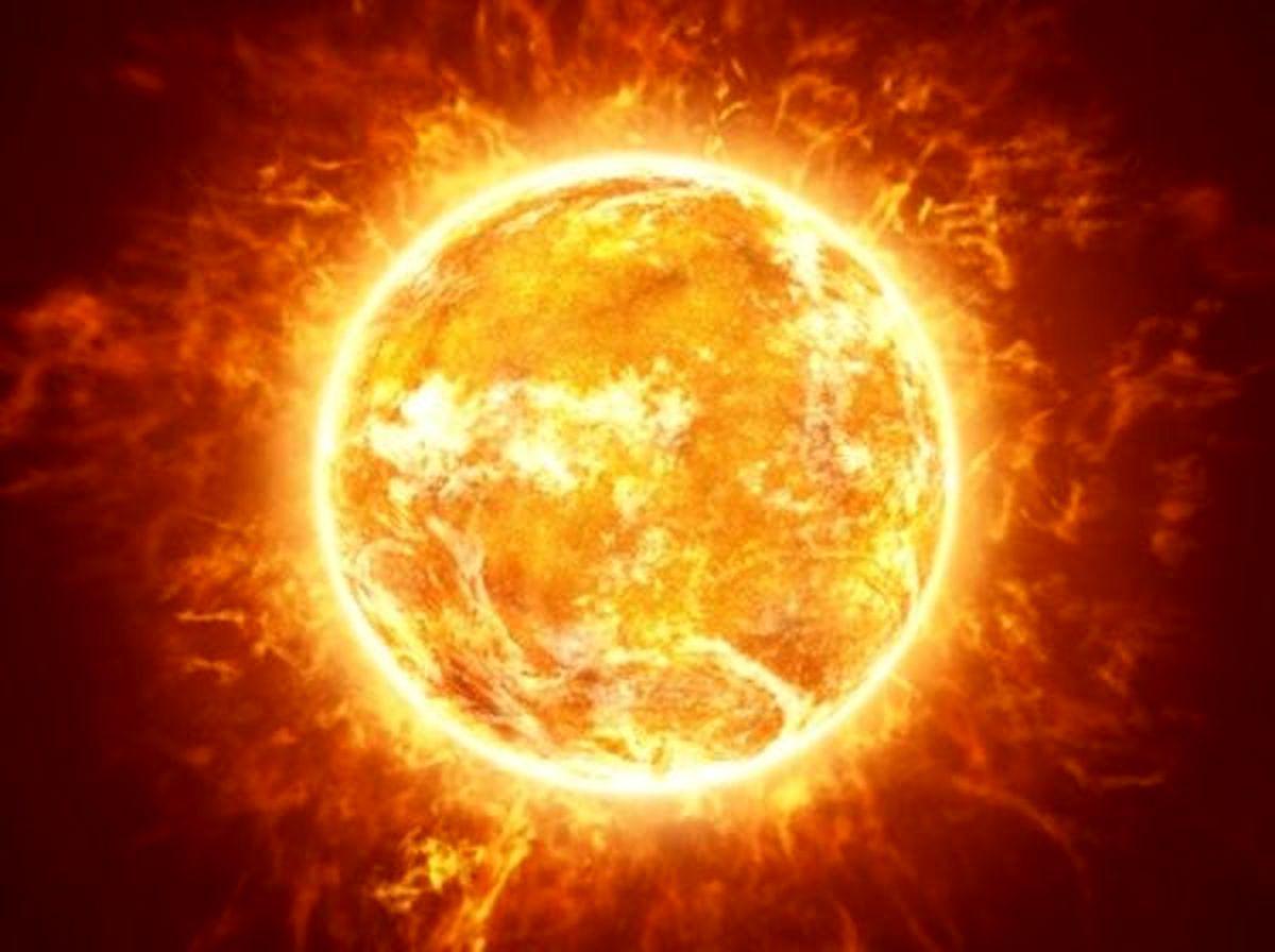 تصویر دیده نشده از لکه های خورشیدی !