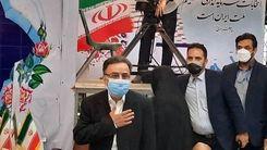 لحظه ثبت نام تاجزاده برای انتخابات 1400 + فیلم لو ر فته