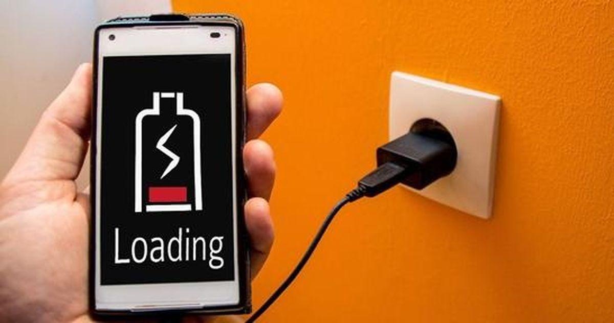 شارژ تلفن همراه با کابل کوتاه + فیلم