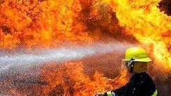 لحظه زنده زنده سوختن 2 دختر در آتش سوزی!