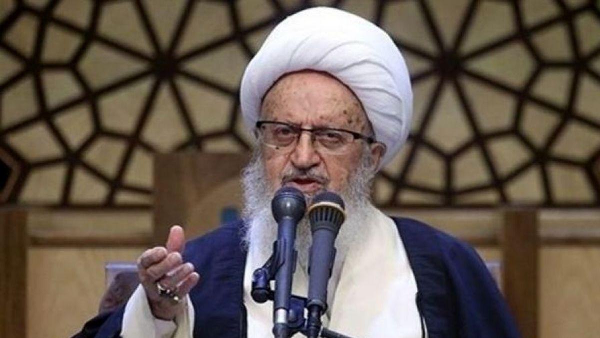 آیت الله مکارم شیرازی در بیمارستان بستری شد/آخرین خبر از وضعیت جسمانی+توضیحات بیشتر