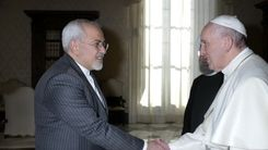 ظریف با پاپ دیدار کرد+جزئیات بیشتر