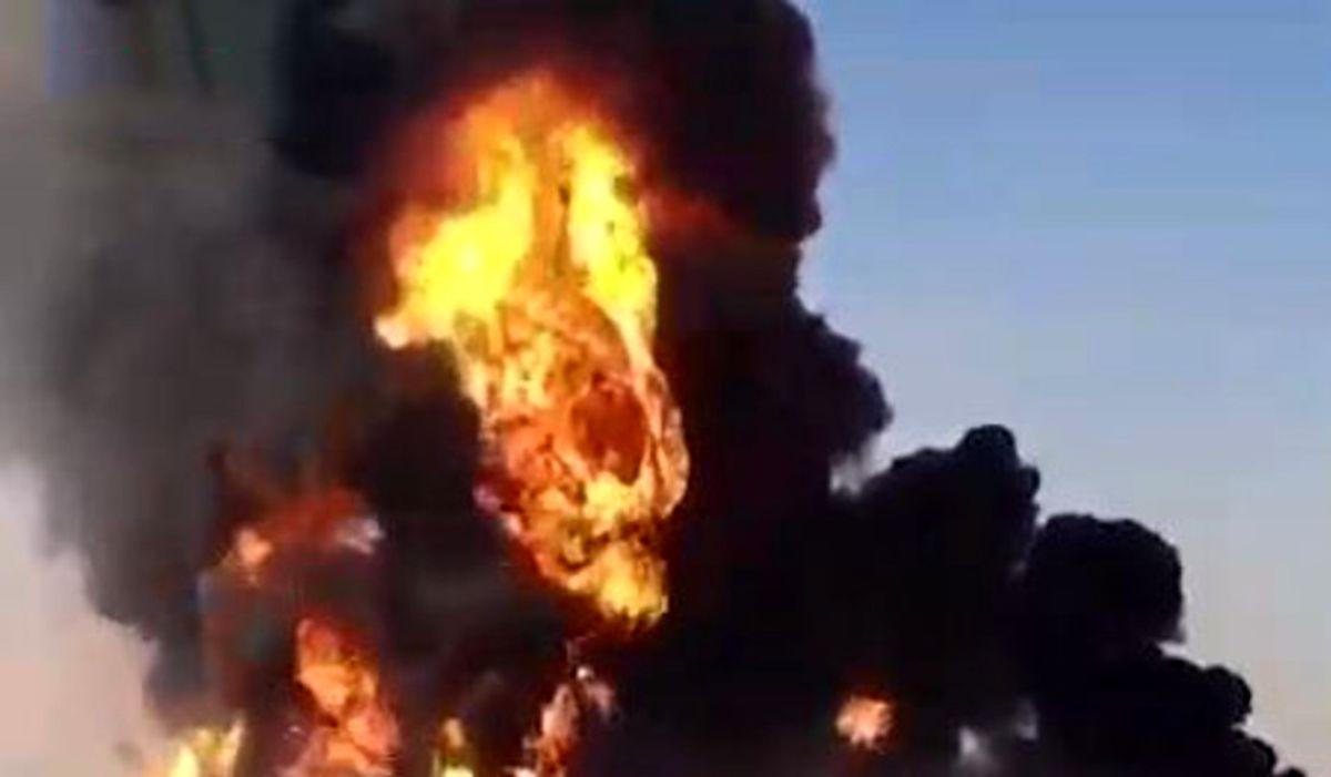 خبر فوری/آتش سوزی وحشتناک در خیابان مطهری+جزئیات بیشتر