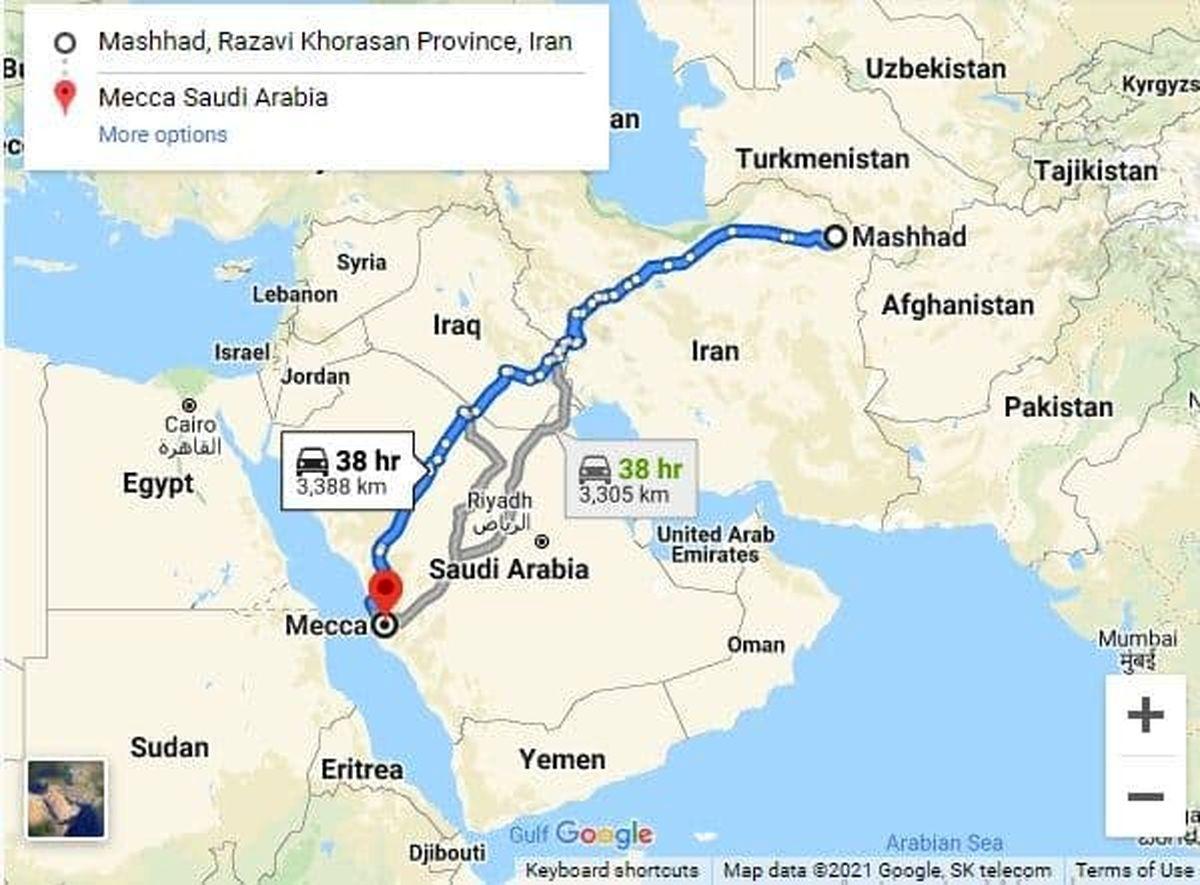 مذاکرات ایران و عربستان/ اتوبان مشهد - مکه ساخته می شود؟