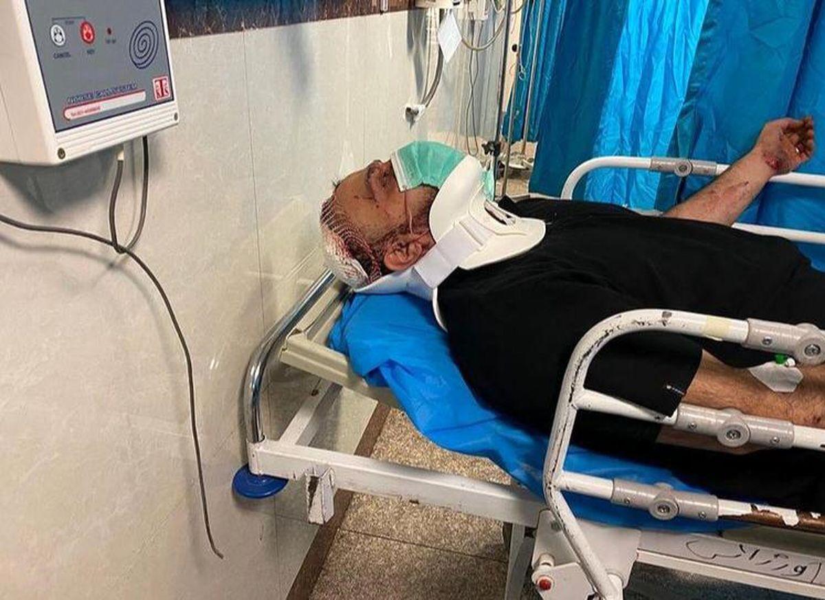 تصویر تلخ مداح معروف در بیمارستان بعد از تصادف هولناک