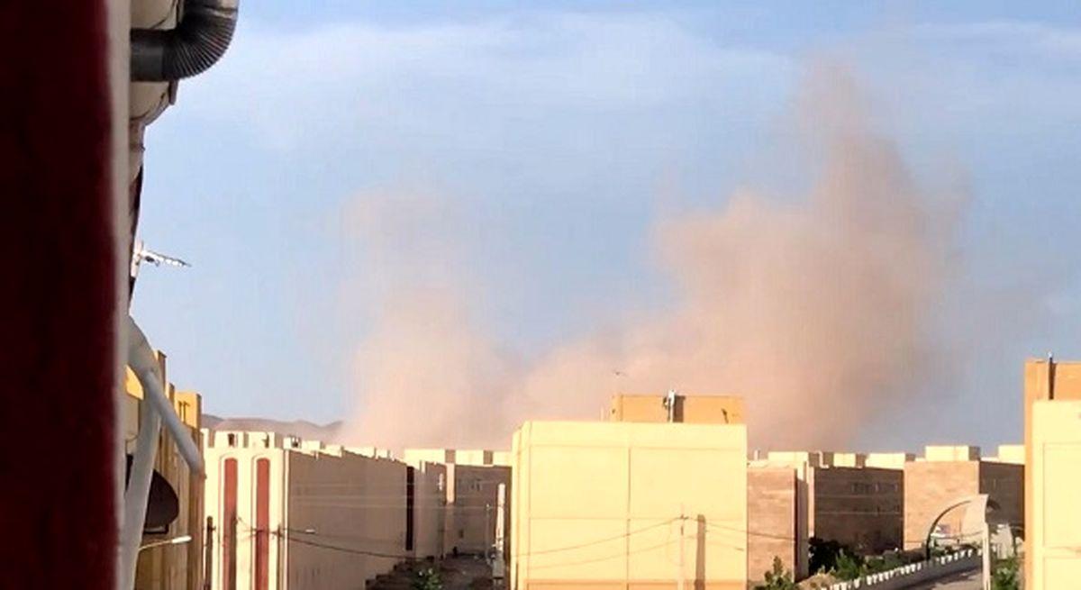 ماجرای صدای انفجار مهیب در پرند چه بود؟ +فیلم