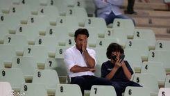 چهره ناراحت فرهاد مجیدی و پسرش بعد از فینال! + عکس دیده نشده
