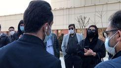 صحبتهای علی کریمی با نسرین مقانلو درباره علی انصاریان+فیلم دیدنی