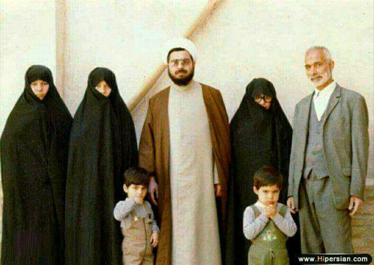 خانواده حسن روحانی در یک قاب +عکس