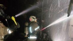تکرار حادثه مشکوک؛علت آتش سوزی کارخانه فولاد زرند ایرانیان+ فیلم آتش سوزی