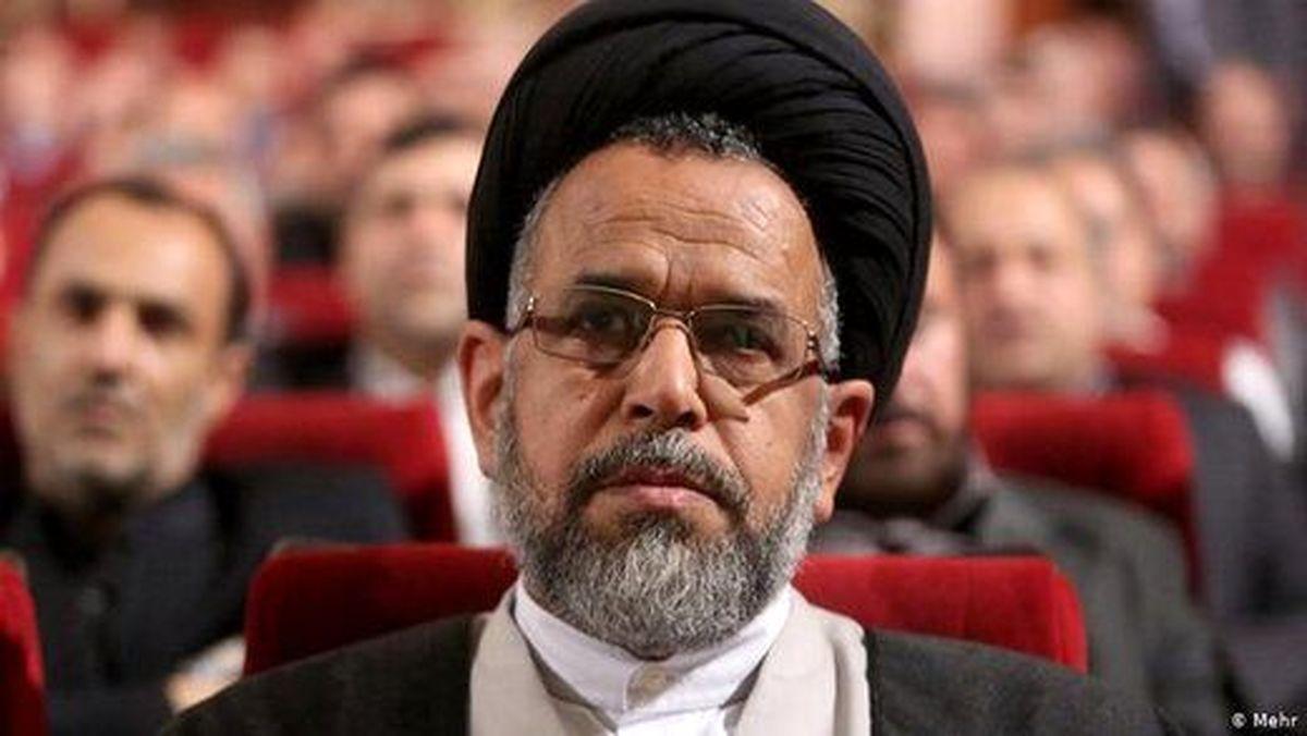 وزیر اطلاعات عزادار شد