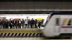 آتش سوزی در ایستگاه مترو قیطریه+ عکس داغ