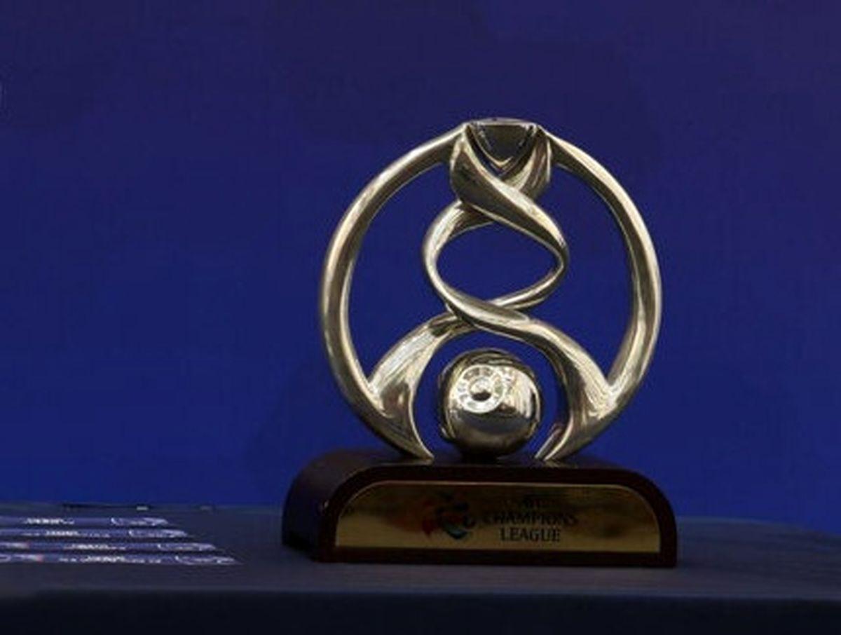 سکوی قهرمانی لیگ قهرمانان آسیا + عکس دیدنی