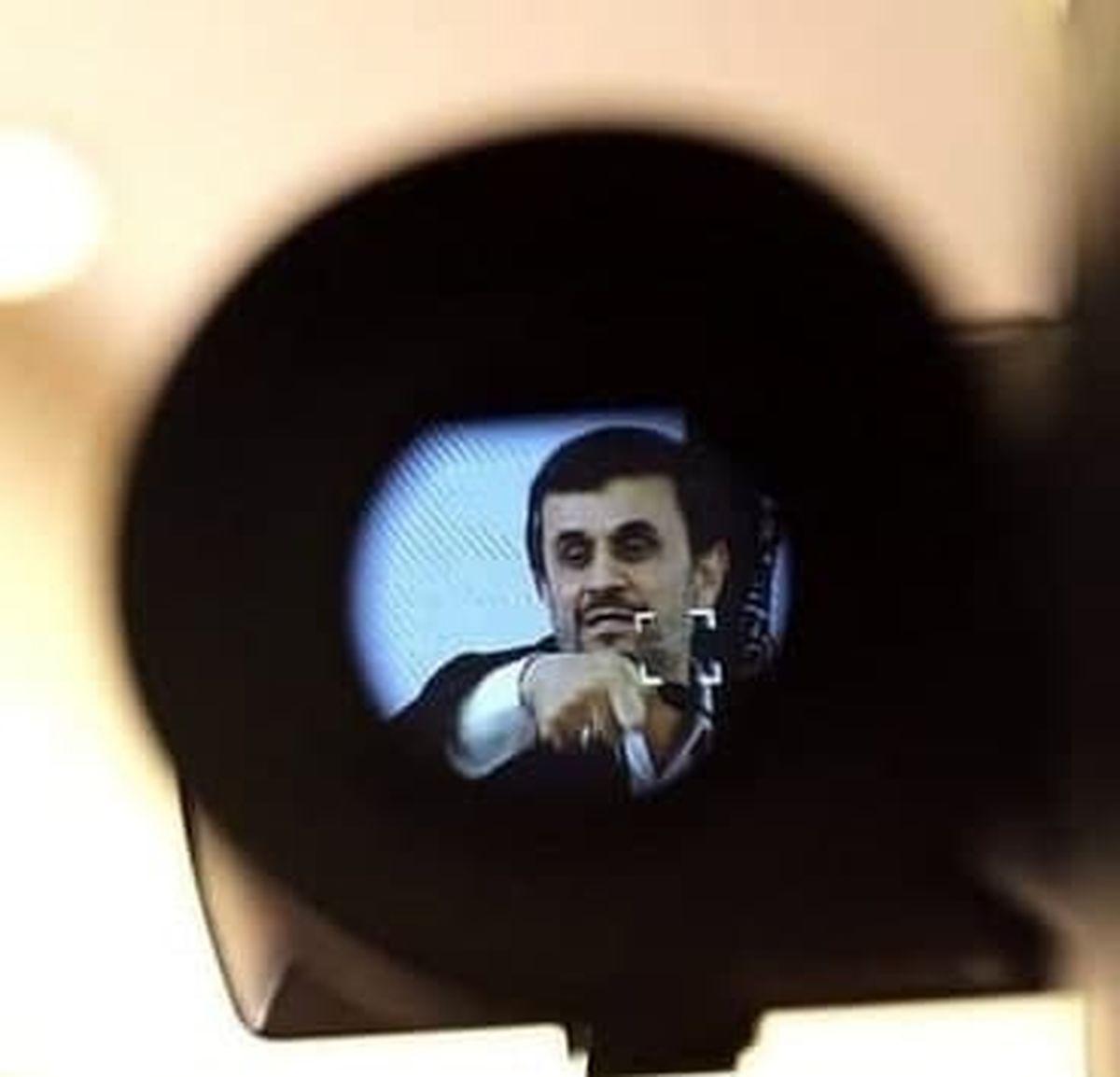 توضیحات جنجالی محمود احمدی نژاد درباره هاله نور+جزئیات بیشتر