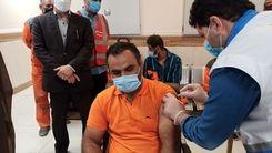 تزریق واکسن کرونای پاکبانان و جنجالی که به شهرداری آبادان کشیده شد