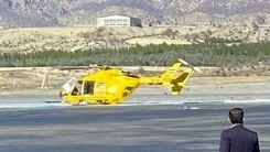 اولین عکس از سقوط هلیکوپتر در ایلام+عکس دیده نشده