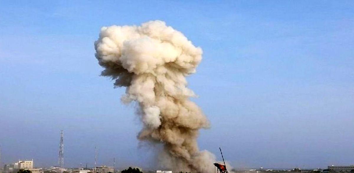 لحظه وحشتناک انفجار در فرودگاه جده+فیلم لو رفته