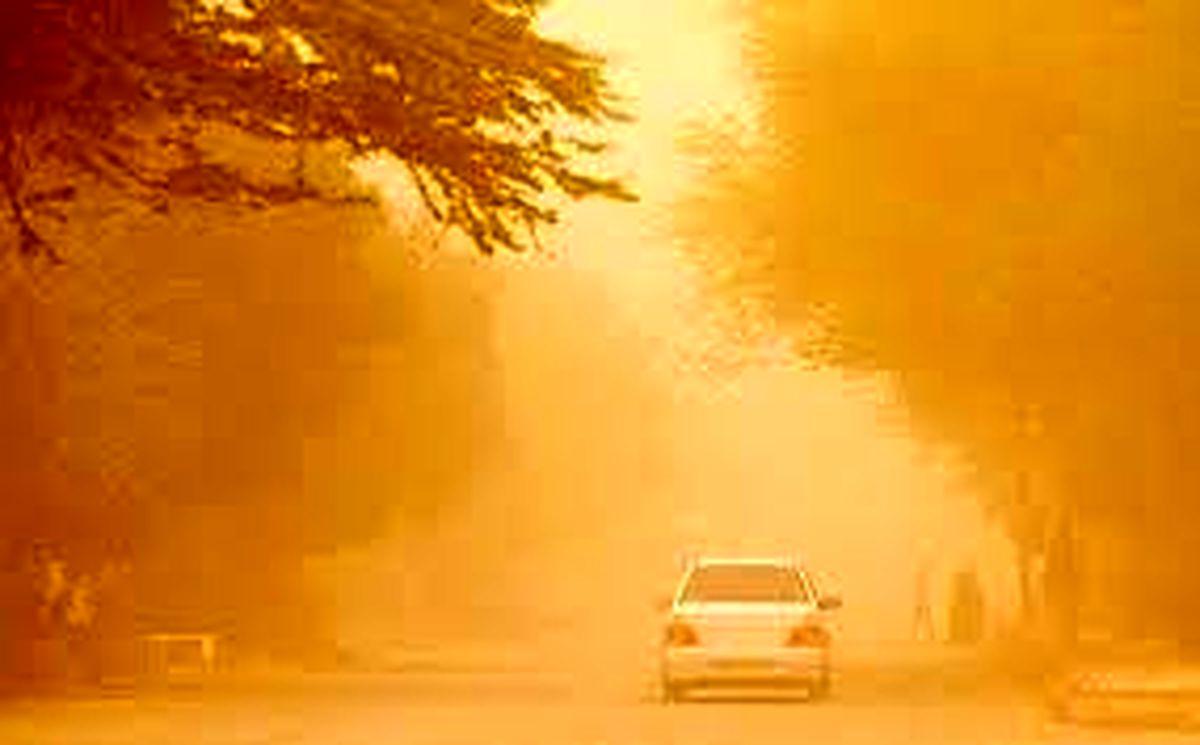 هشدار به تهرانی ها/ گرد و غبار شدید در راه تهران