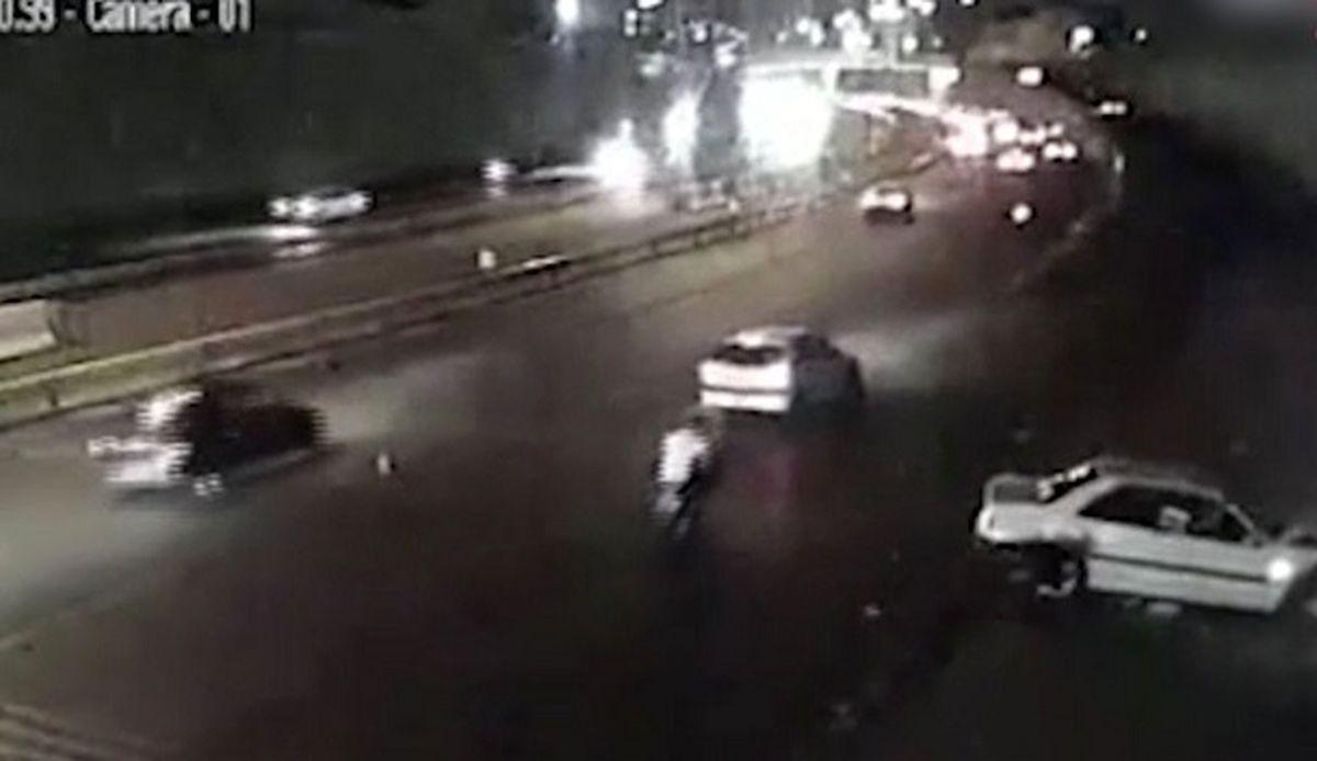 تصادفات وحشتناک تهران به خاطر قطعی برق + فیلم