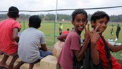 تشویق جنجالی تیم پرسپولیس توسط کودکان هندی!
